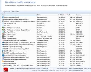 Y a pas que MS Office de logiciel inutilement préinstallé...
