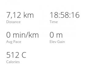 Non, je ne battais pas un record de marche lente, 40m de course se sont transformés en 18h